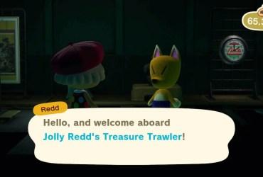 Animal Crossing: New Horizons Jolly Redd's Treasure Trawler Screenshot