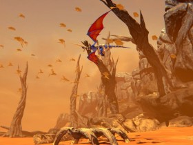 Panzer Dragoon: Remake Screenshot