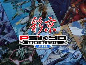 Psikyo Shooting Stars Alpha Review Header