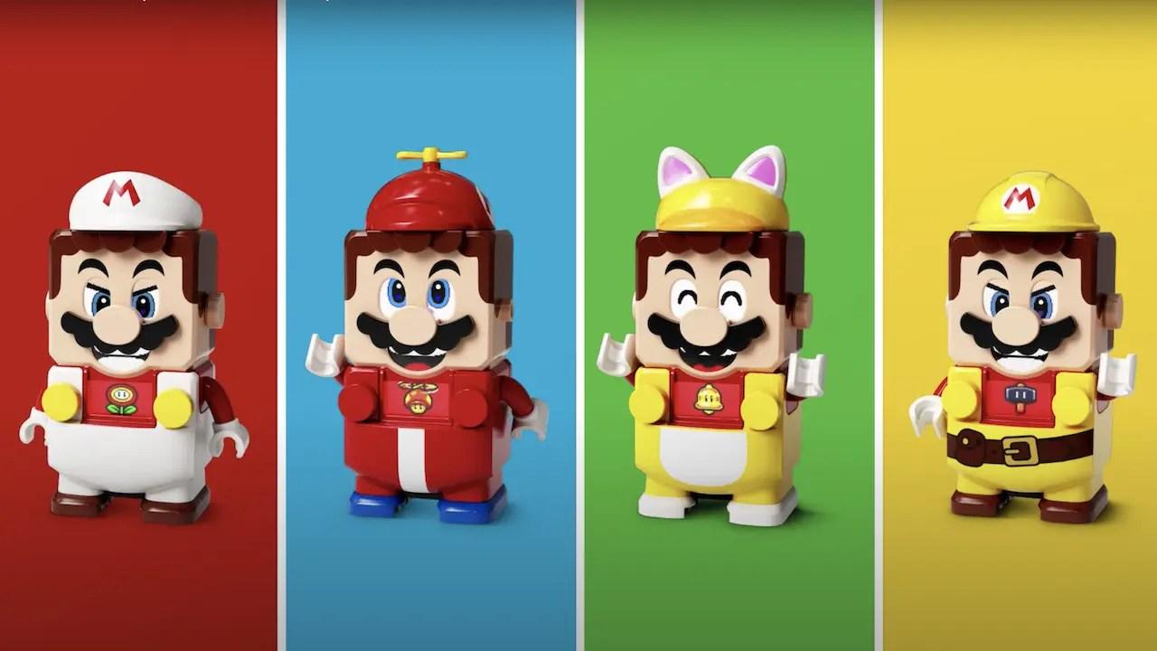 LEGO Super Mario Power-Up Packs Photo