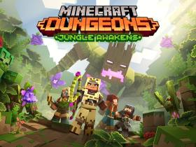 Minecraft Dungeons: Jungle Awakens Logo