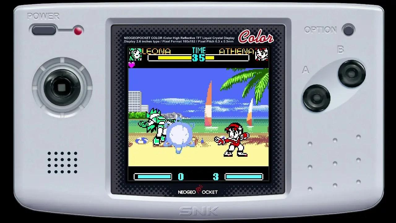 SNK Gals' Fighters Review Screenshot 3