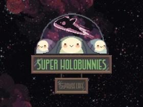 Super Holobunnies: Pause Café Logo