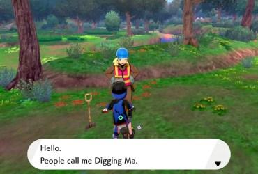 Digging Ma Pokémon Sword and Shield Screenshot