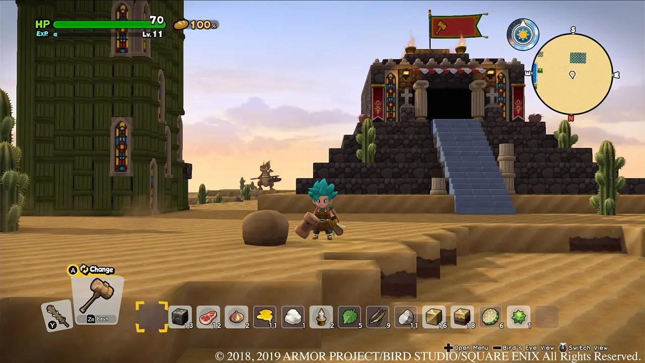 Dragon Quest Builders 2 Review Screenshot 1