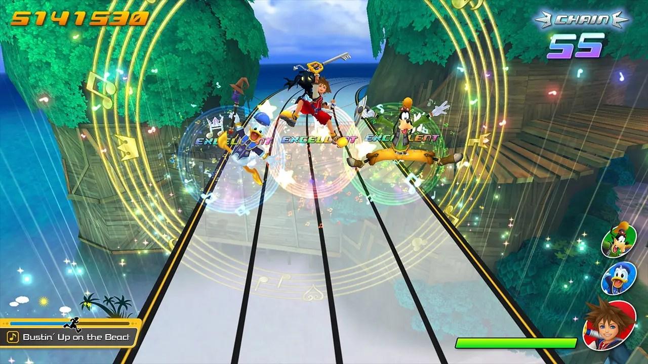 Kingdom Hearts Melody of Memory Screenshot