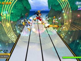 Kingdom Hearts Melody of Memory Screenshot