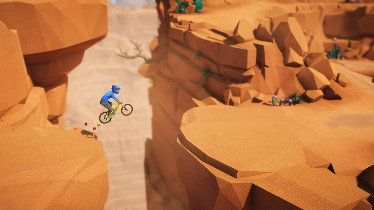 Lonely Mountains: Downhill Review Screenshot 1