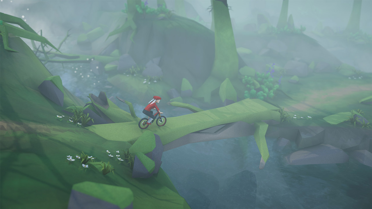 Lonely Mountains: Downhill Review Screenshot 3