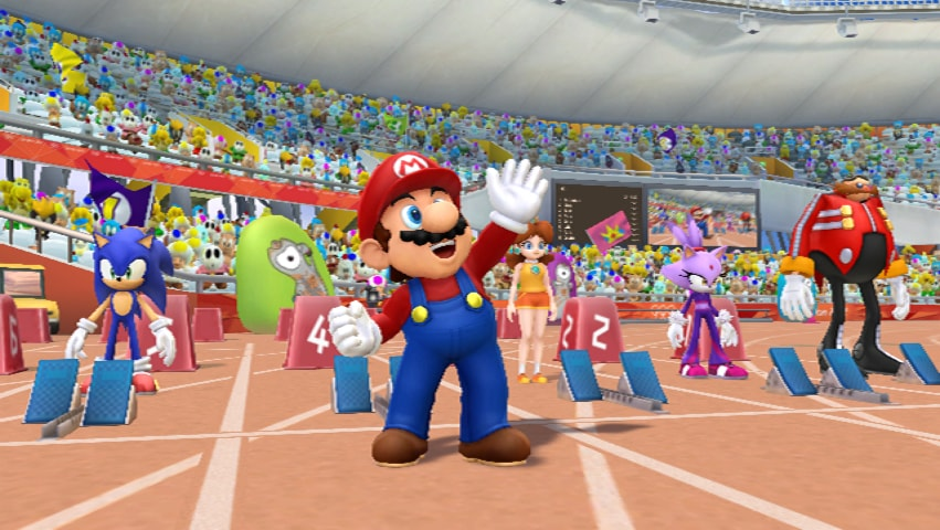 Mario & Sonic At The London 2012 Olympic Games Review Screenshot 1