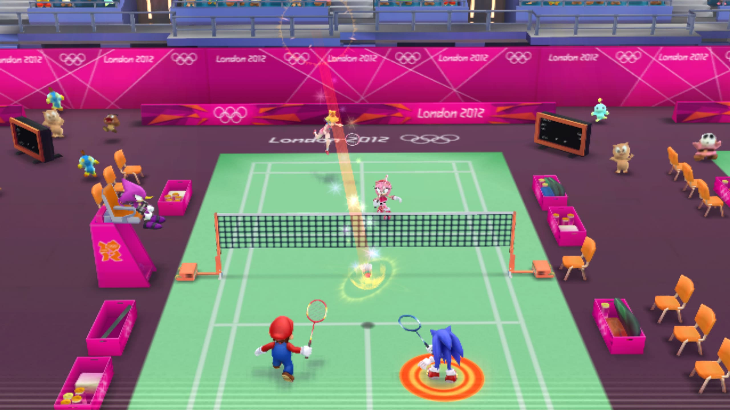 Mario & Sonic At The London 2012 Olympic Games Review Screenshot 2