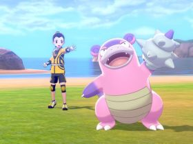 Pokémon Sword and Shield Galarian Slowbro Screenshot