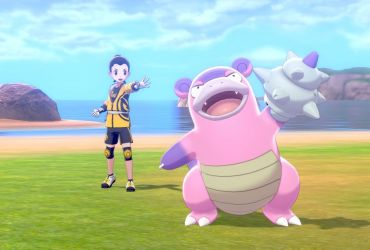 Pokémon Sword and Shield Galarian Slowbro Screenshot