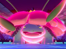 Pokémon Sword And Shield Gigantamax Venusaur Screenshot