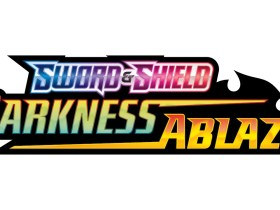 Pokémon TCG: Sword And Shield Darkness Ablaze Logo