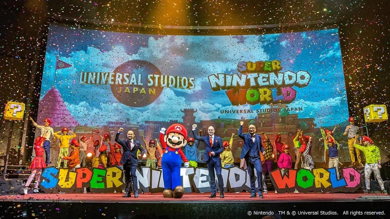 Super Nintendo World Press Conference Photo