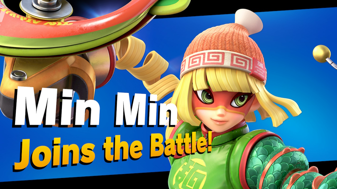 Unlock Min Min Super Smash Bros Ultimate Screenshot