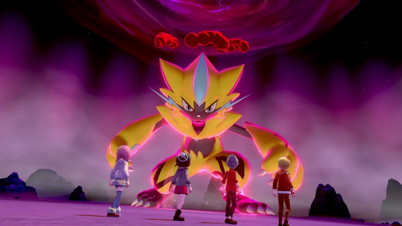 Zeraora Max Raid Battle Screenshot