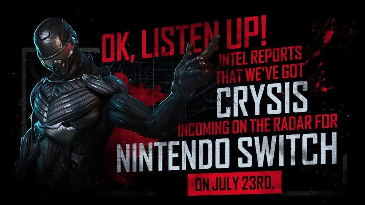 Crysis Remastered Nintendo Switch Image