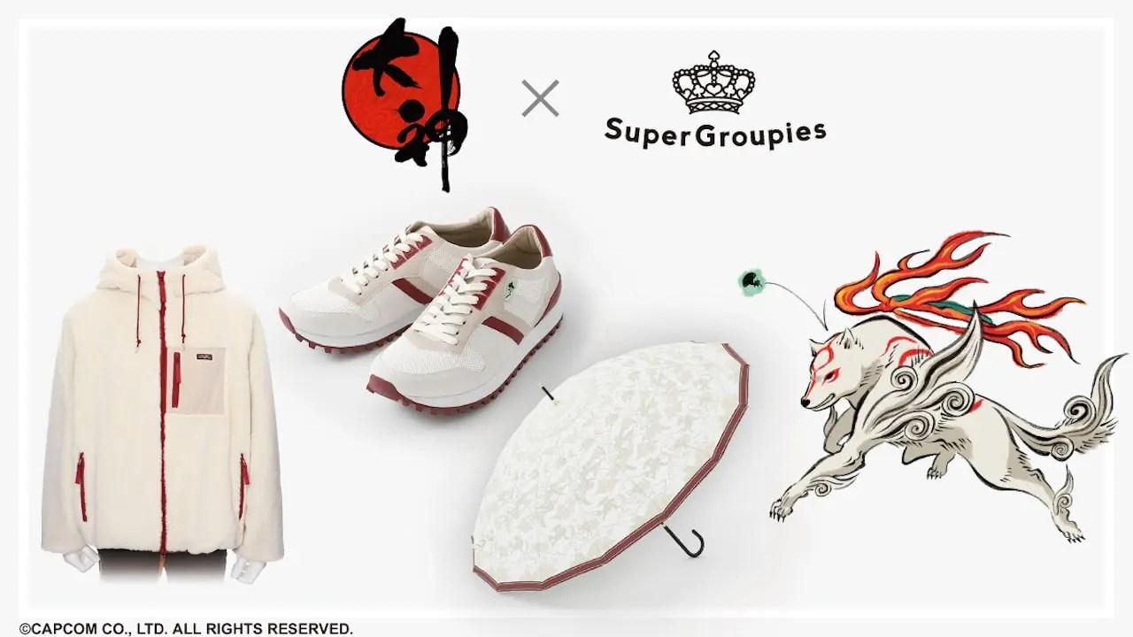 SuperGroupies Ōkami Collaboration Photo