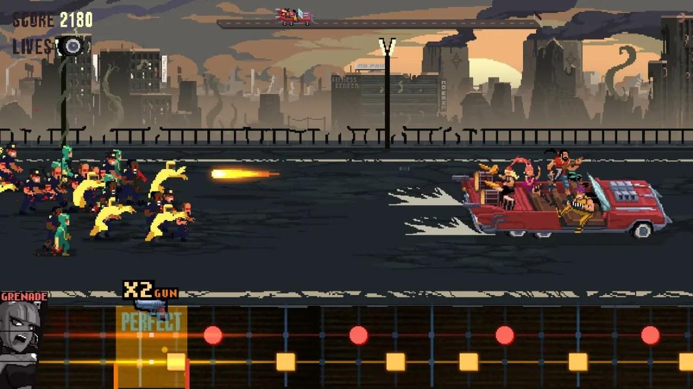 Double Kick Heroes Review Screenshot 1