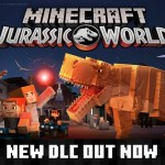 Minecraft Jurassic World Logo