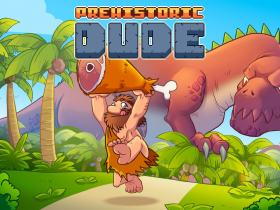 Prehistoric Dude Logo
