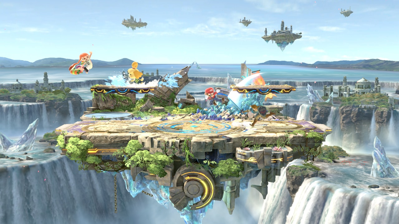 Super Smash Bros. Ultimate Small Battlefield Screenshot