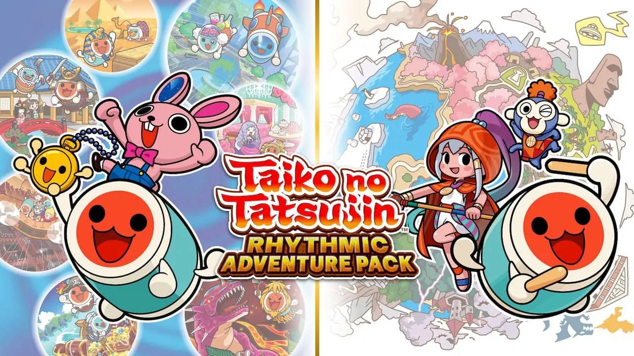 Taiko No Tatsujin: Rhythmic Adventure Pack Logo