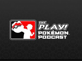 The Play! Pokemon Podcast Logo
