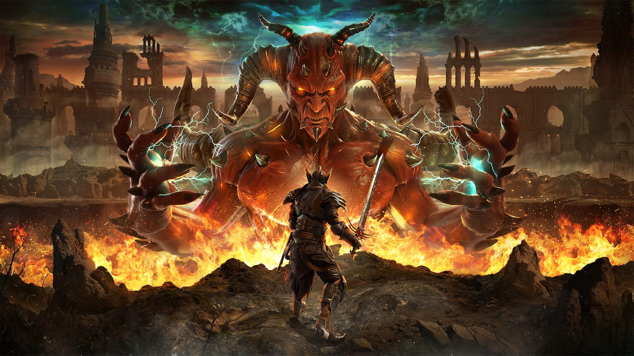 Alaloth: Champions Of The Four Kingdoms Key Art