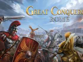 Great Conqueror: Rome Logo