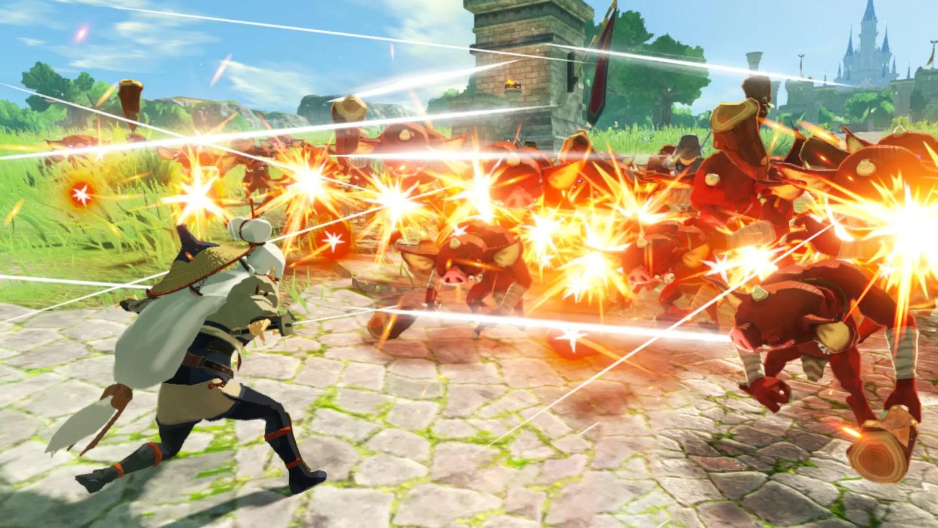 Hyrule Warriors: Age Of Calamity Impa Screenshot 1