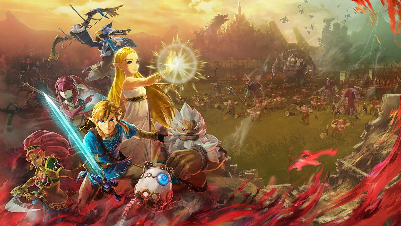 Hyrule Warriors: Age of Calamity Treasure Box offers Paraglider blanket and more