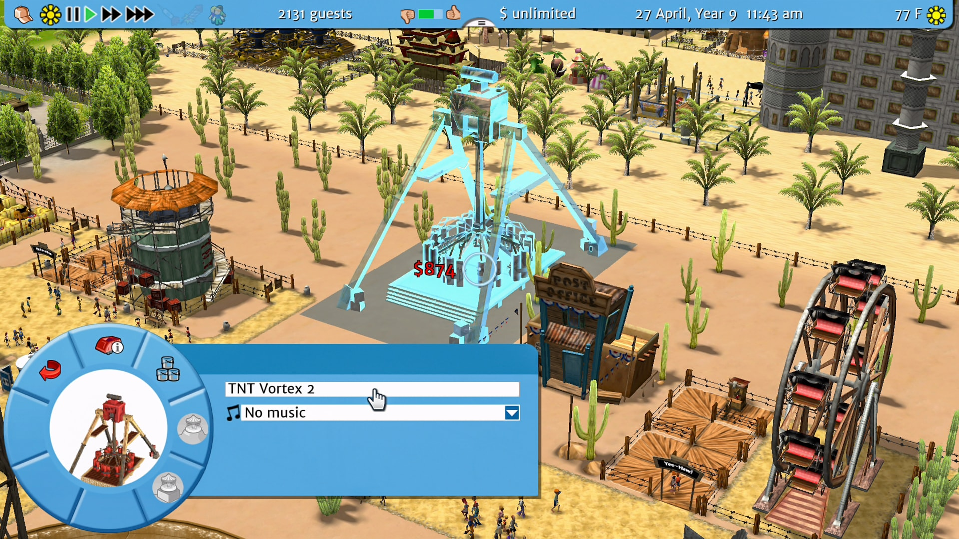 RollerCoaster Tycoon 3: Complete Edition Review Screenshot 1