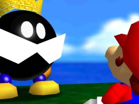 Super Mario 64 Bob-omb Battlefield Screenshot