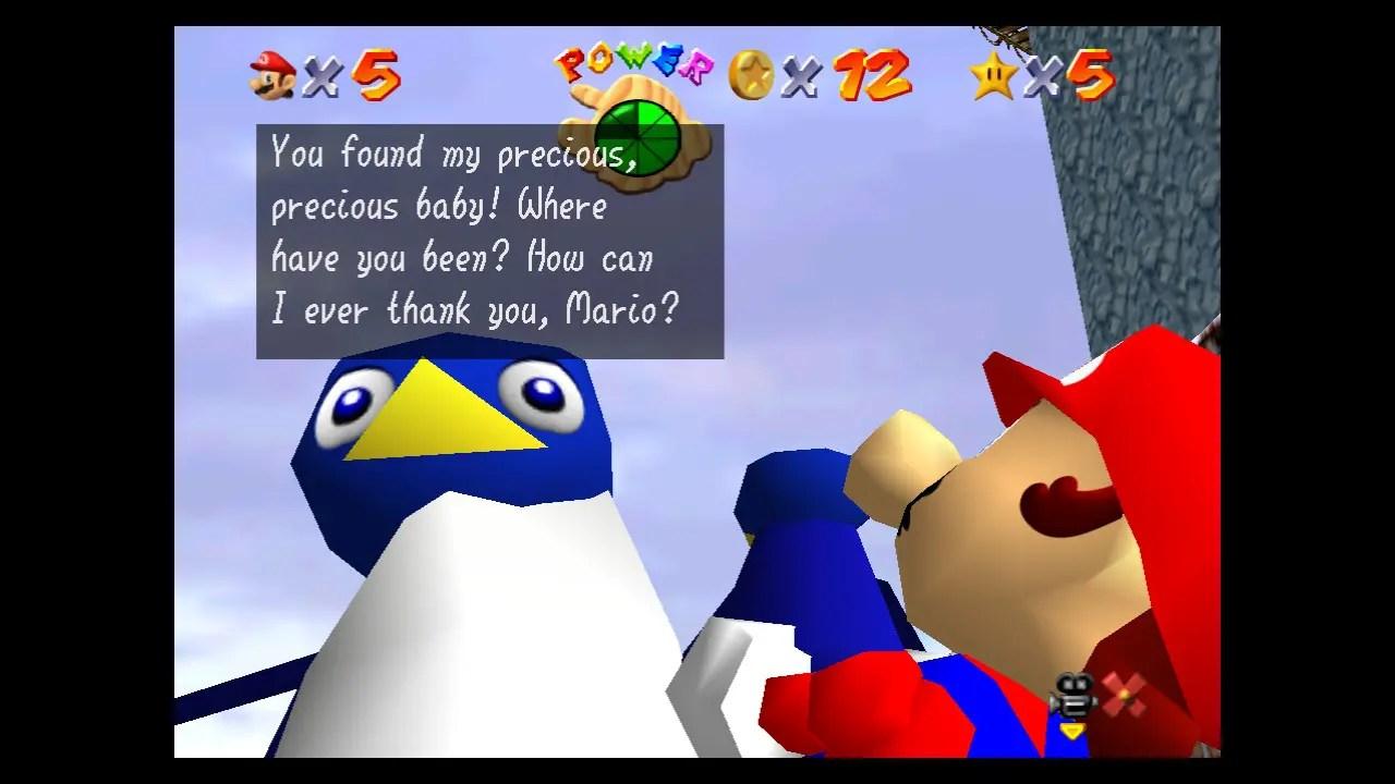 Super Mario 64 Cool, Cool Mountain Screenshot 2