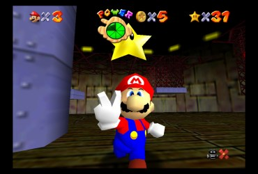 Super Mario 64 Dire, Dire Docks Screenshot