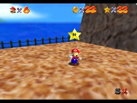 Super Mario 64 Tall, Tall Mountain Screenshot 1