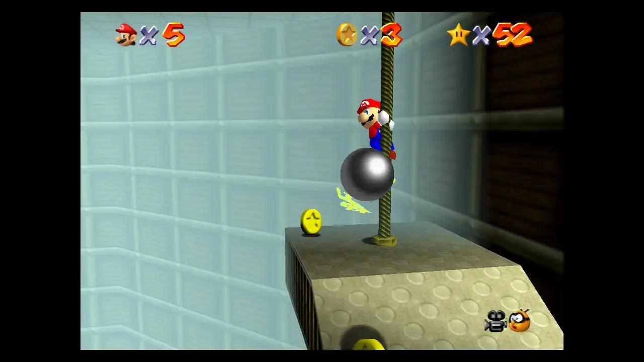 Super Mario 64 Tick Tock Clock Screenshot 2