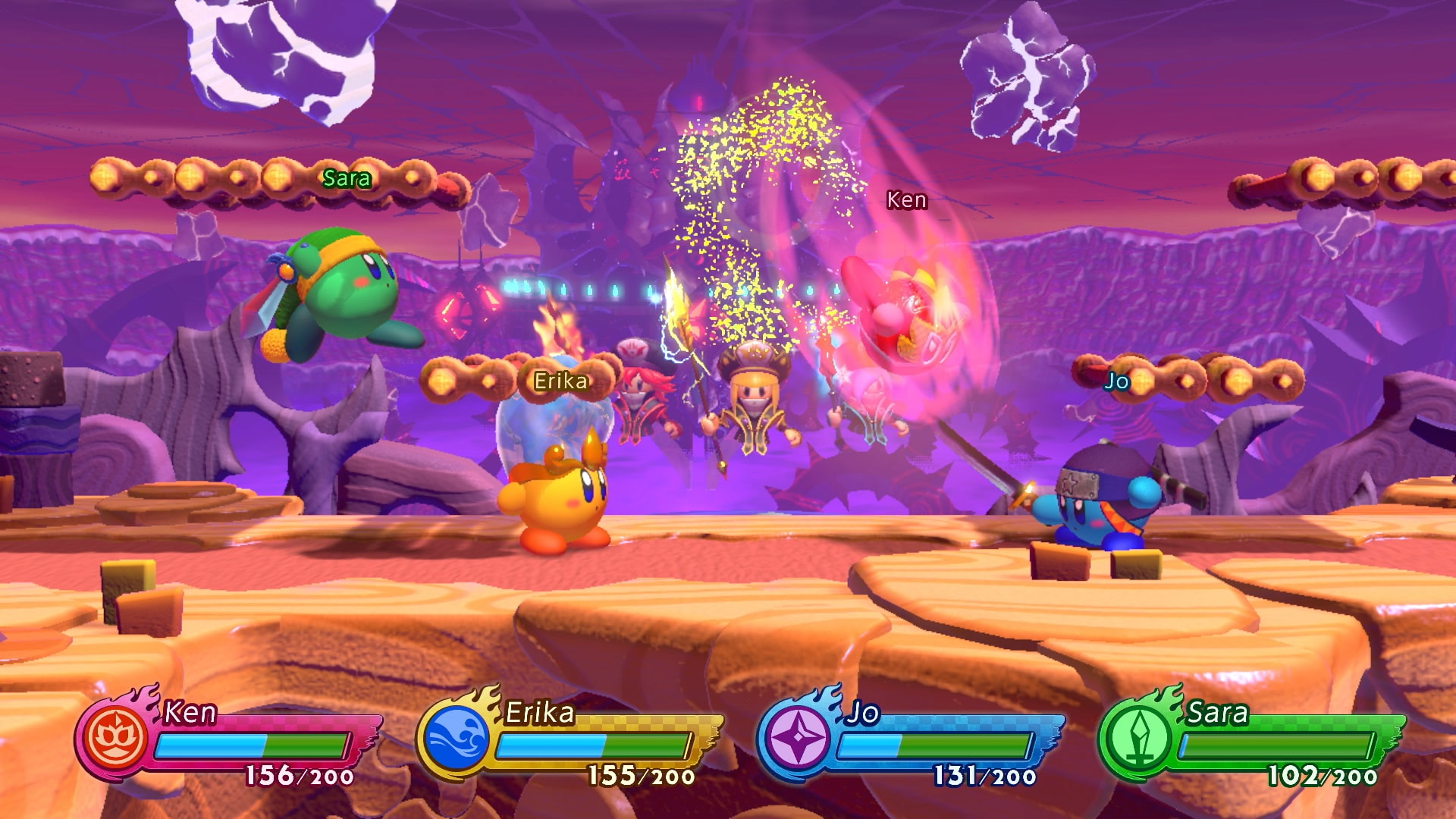 Kirby Fighters 2 Review Screenshot 1