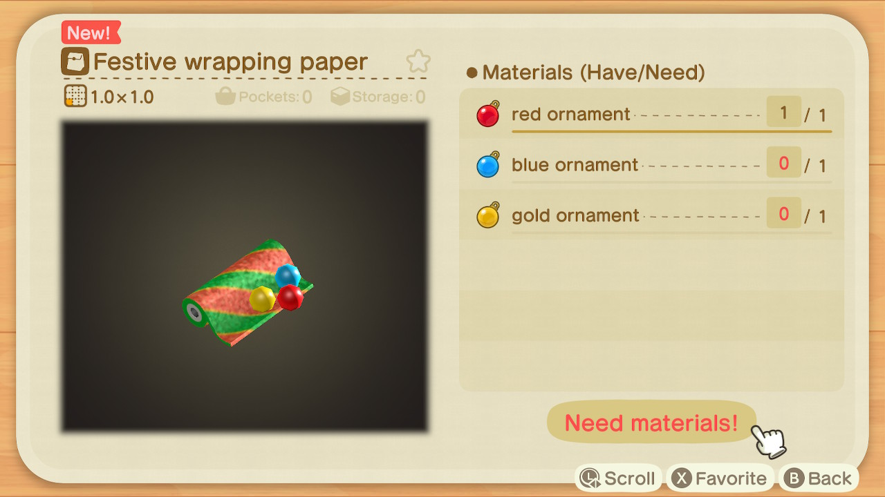 Animal Crossing: New Horizons Toy Day Screenshot 2