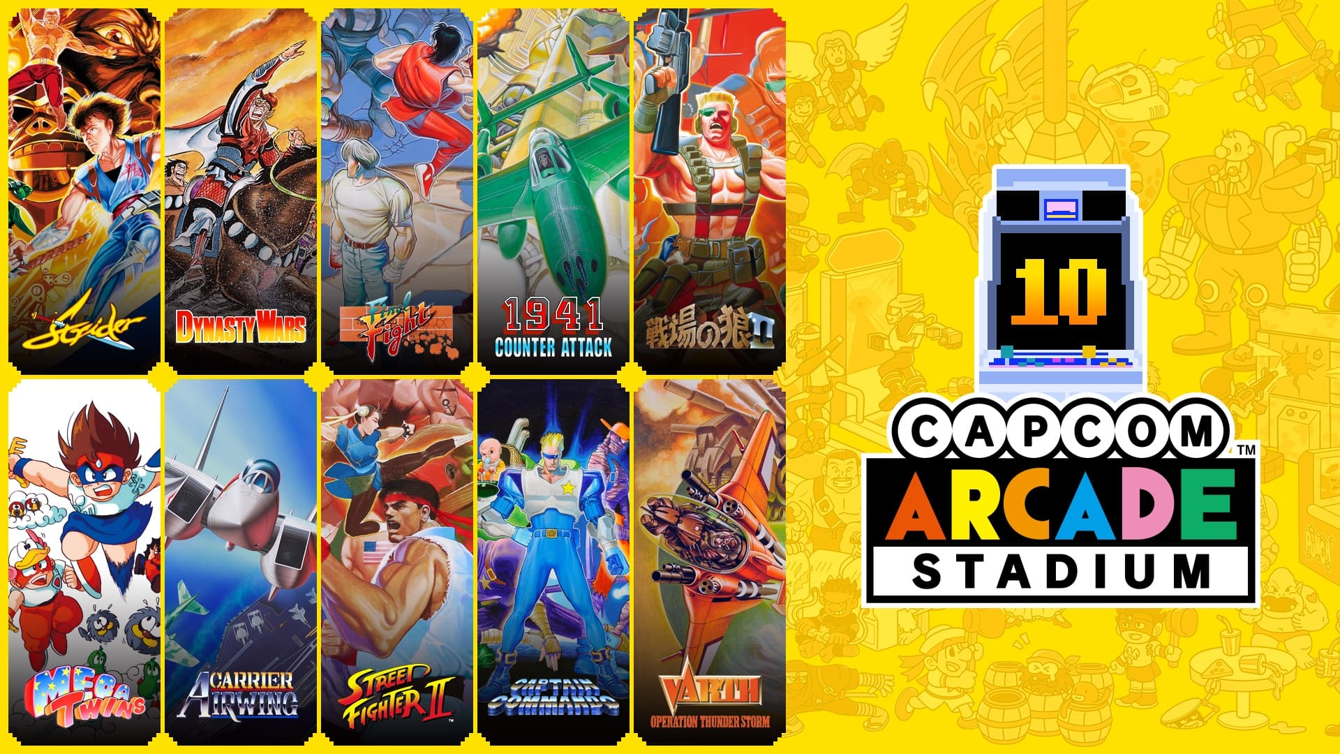 Capcom Arcade Stadium Pack 2 Image