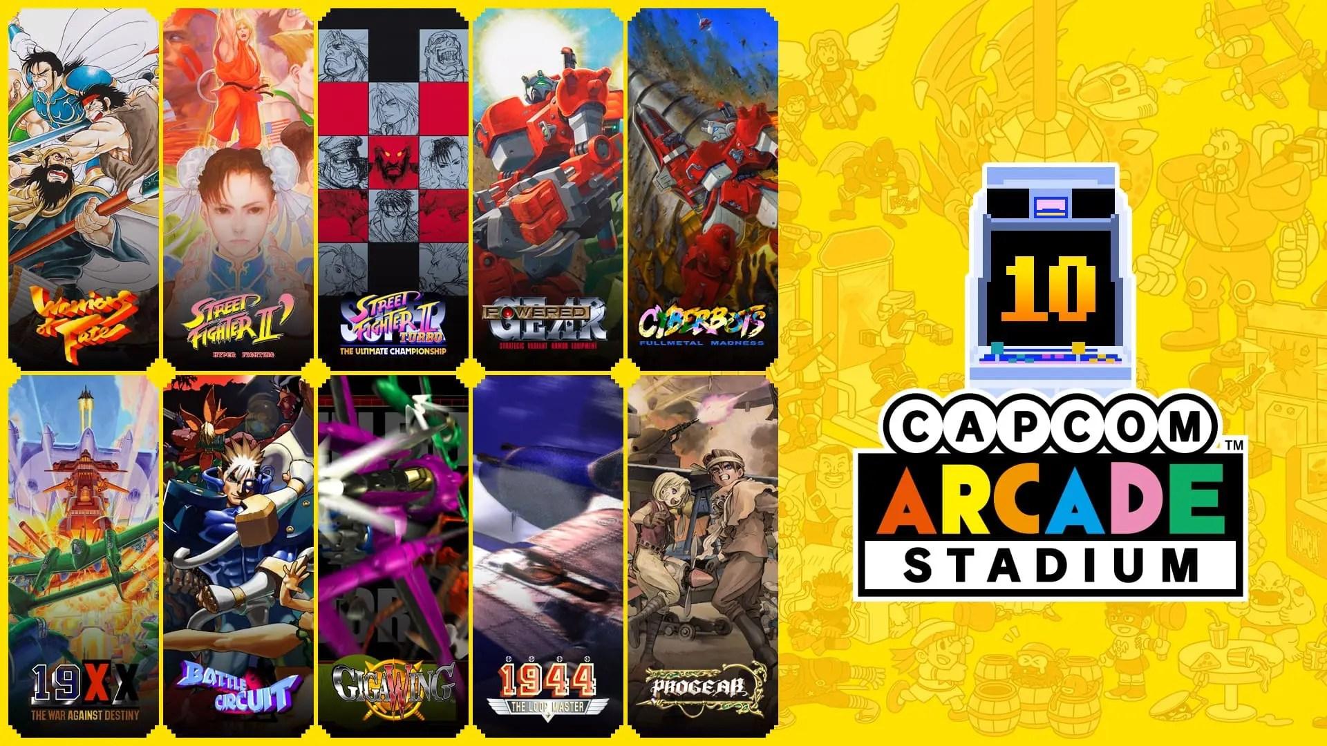 Capcom Arcade Stadium Pack 3 Image