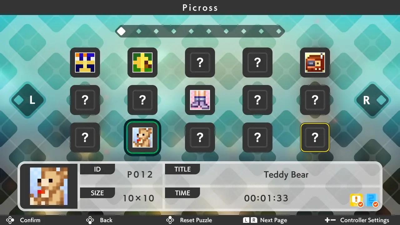 Picross S5 Review Screenshot 2
