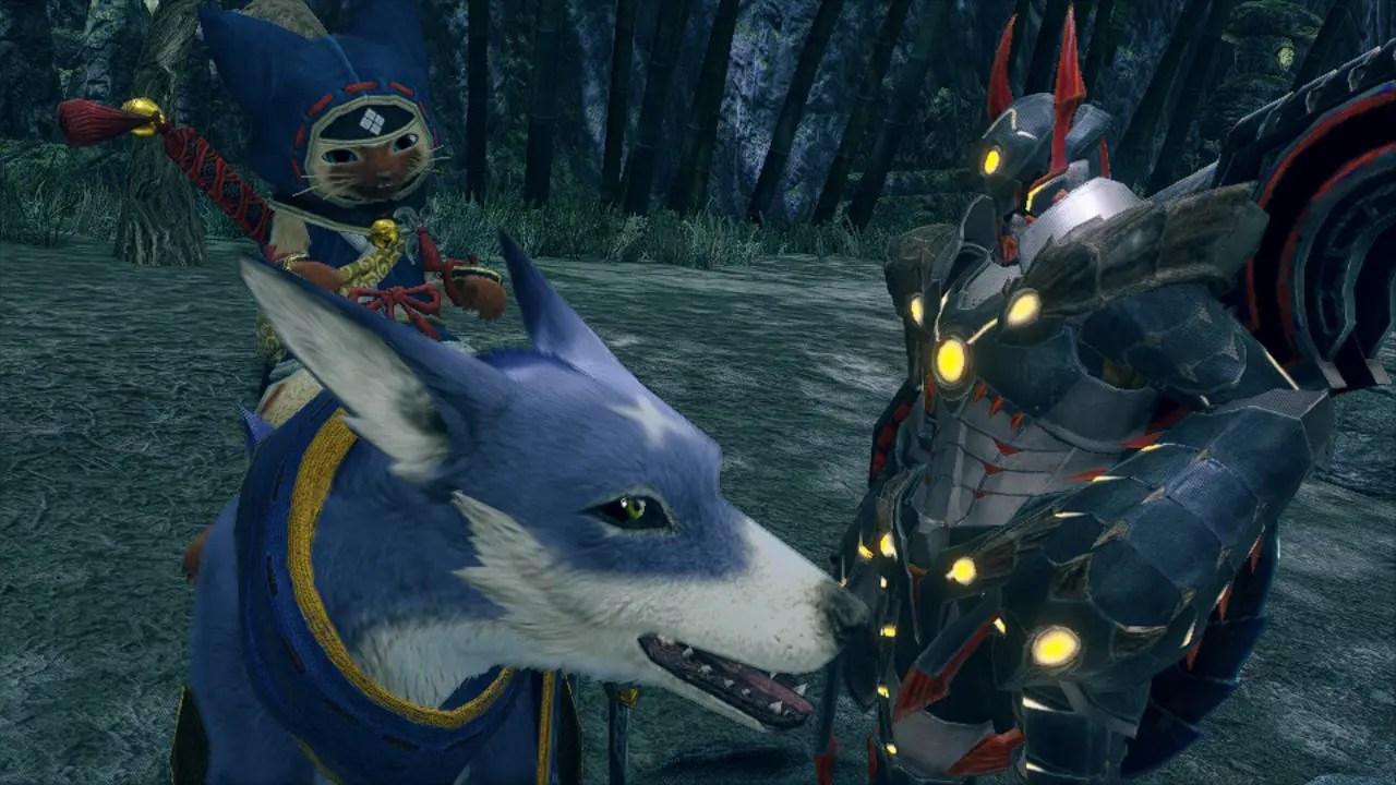Monster Hunter Rise Demo Screenshot 1
