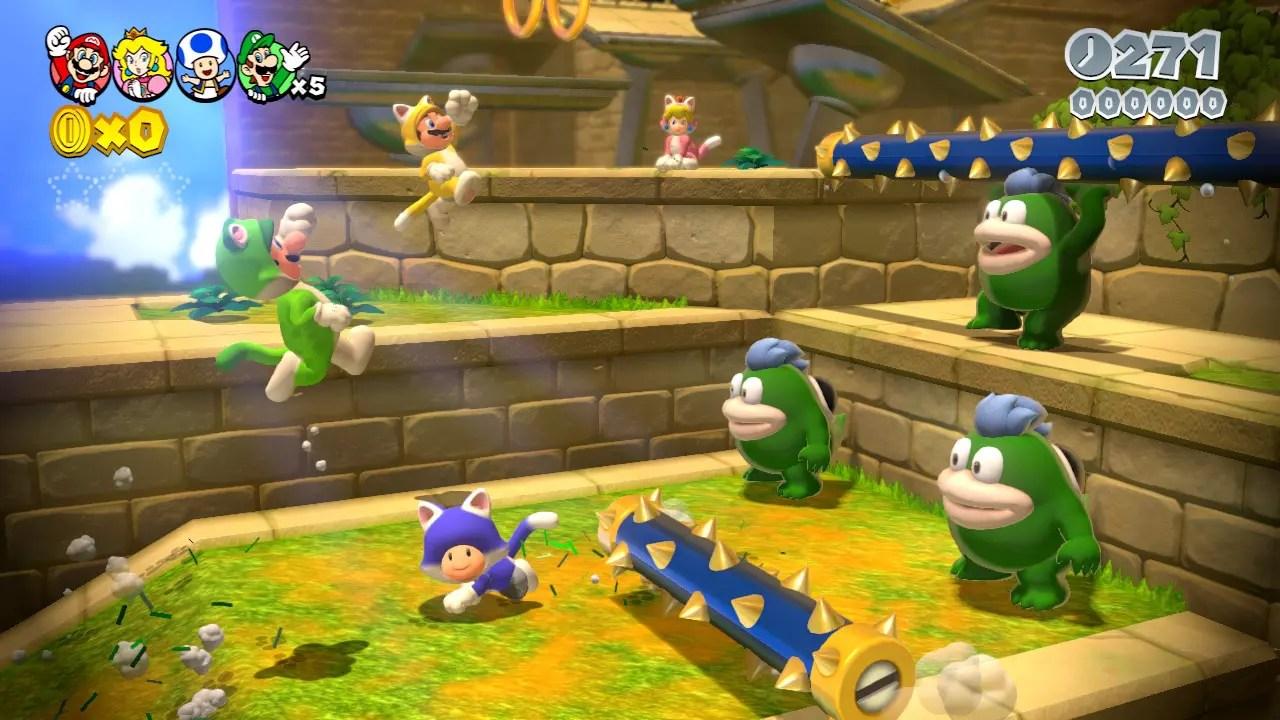 Super Mario 3D World Review Screenshot 5