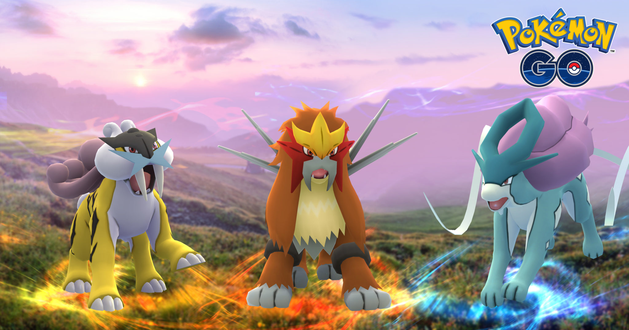 Pokémon go : Raikou, Entei et Suicune, où les trouver ?