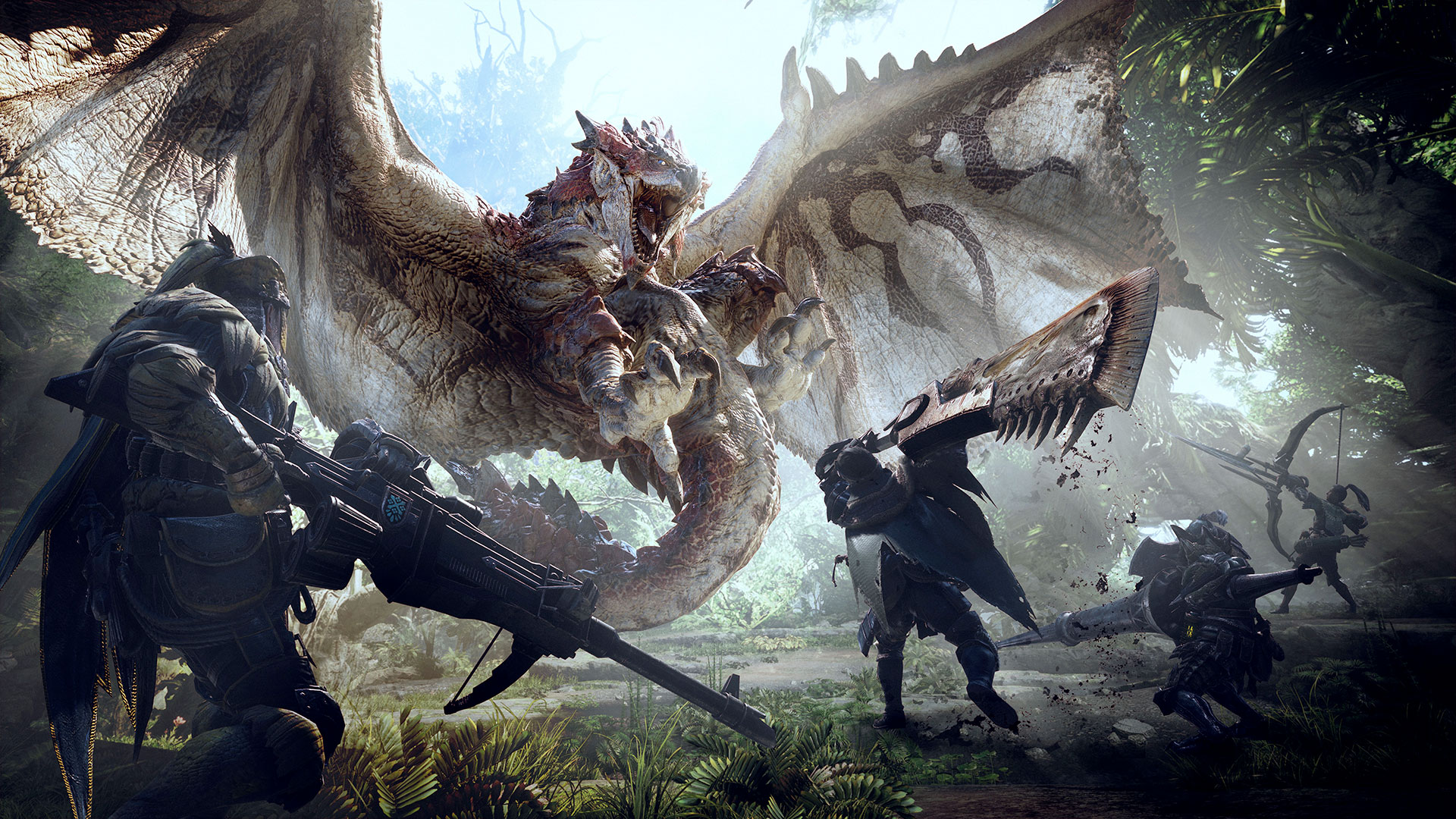 Monster Hunter World ne sortira pas sur Switch