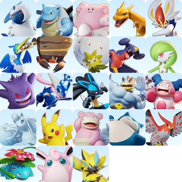Pokémon et son univers [Nintendo] - Page 35 Pokemon-unite-launch-roster